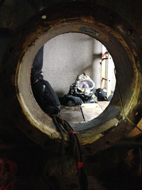 Confined Space Engineering Edwards Diving Services