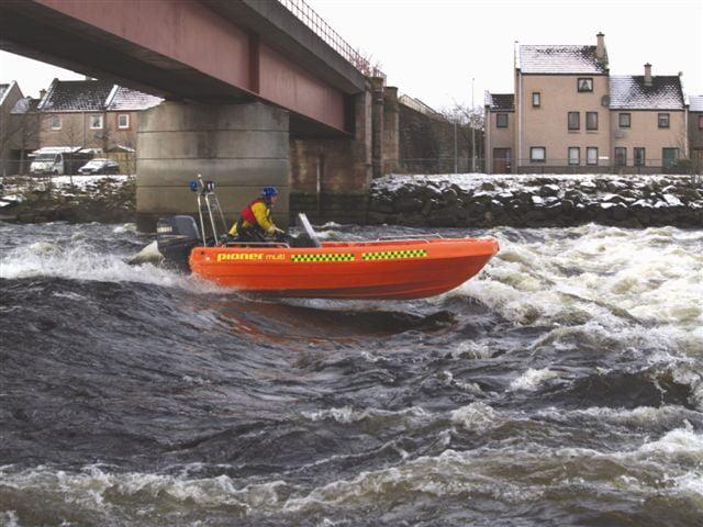 pioner rescue boat
