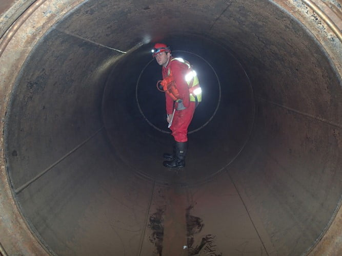 confined space pipe inspection