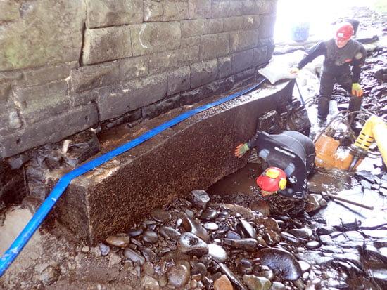 bridge scour repairs