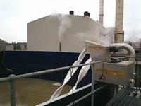 oil skimmer installation