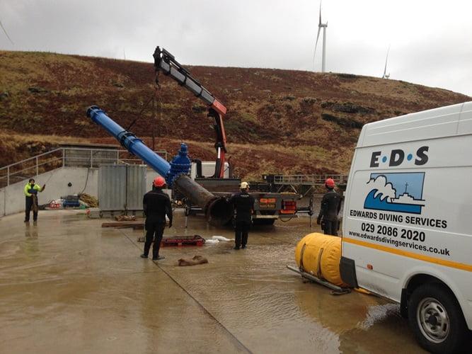 diving pipework repalcement