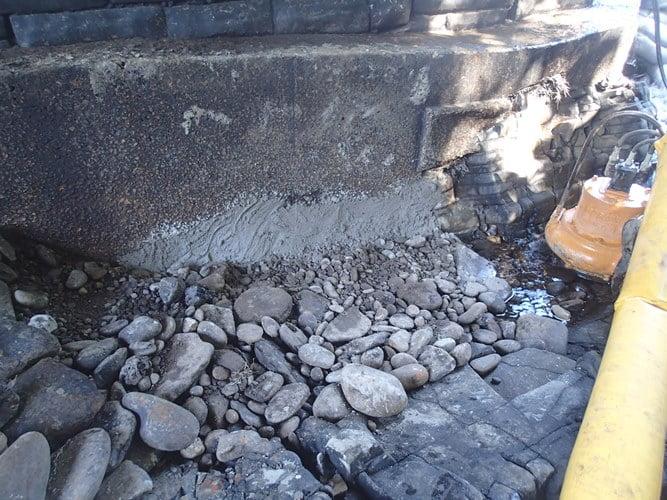 bridge foundation scour repair