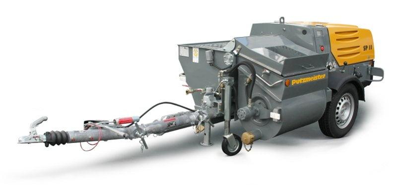 sp11 Putzmeister grout pump