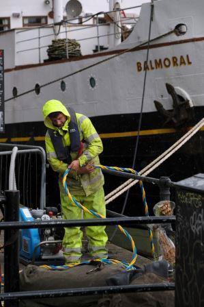 Diving MV Balmoral
